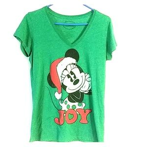 Disney Minny Mouse Christmas shirt sz XL